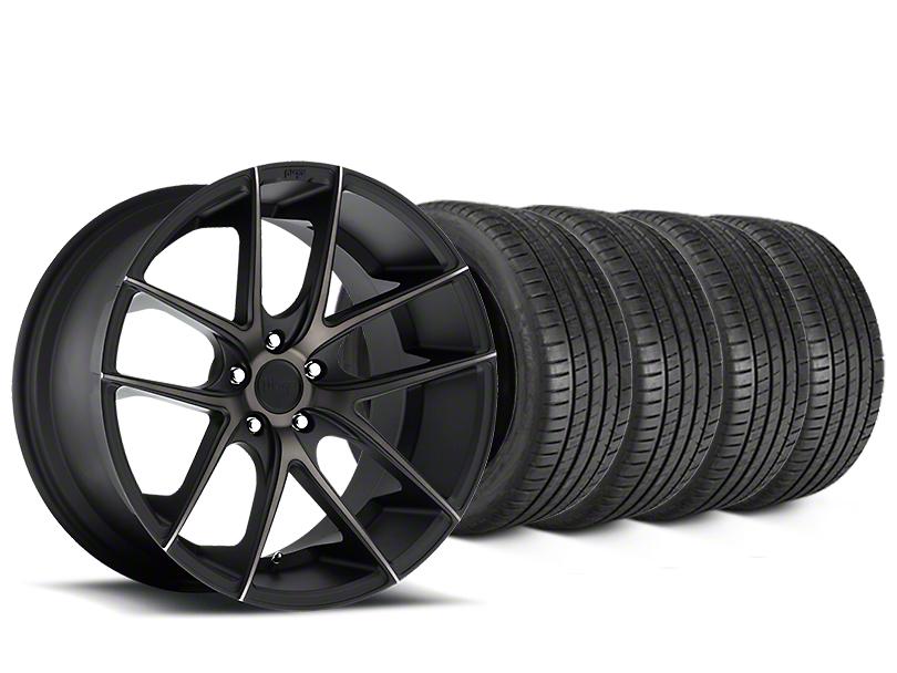 Niche Targa Matte Black Wheel & Michelin Pilot Super Sport Tire Kit - 20x8.5 (15-18 All)