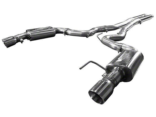 Kooks Cat-Back Exhaust with H-Pipe and Polished Tips (15-17 GT)