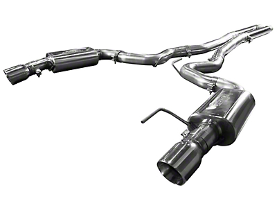 Kooks Cat-Back Exhaust w/ H-Pipe - Polished Tips (15-17 GT)