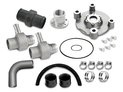 Davies Craig Electric Water Pump Header-Adapter Kit (11-17 GT)