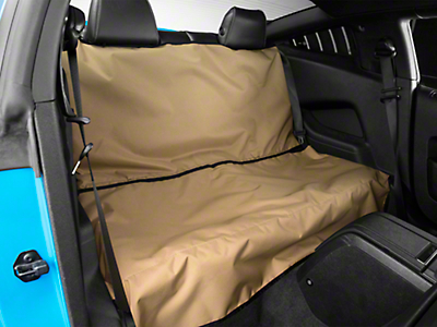 Covercraft Canine Covers Econo Rear Seat Protector - Tan (05-14 Coupe)
