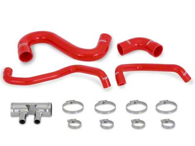 Mishimoto Silicone Lower Radiator Hose Kit - Red (15-19 GT)