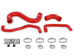 Mishimoto Silicone Lower Radiator Hose Kit; Red (15-20 GT)