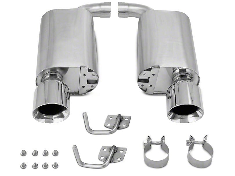 Mishimoto Street Axle-Back Exhaust - Polished Tips (15-17 GT)