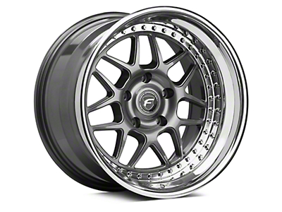 Forgestar M14.2 Multipiece Gunmetal Wheel - 18x10.5 (05-14 All)