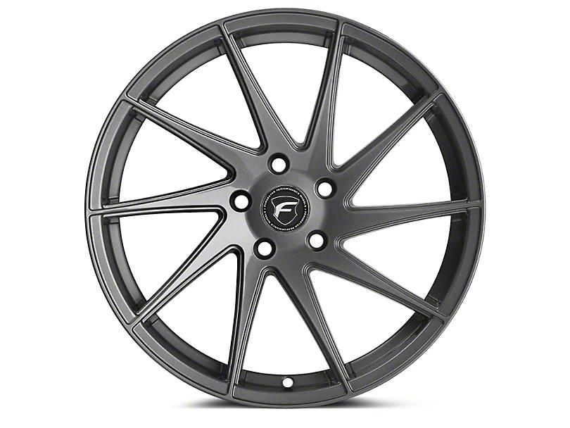Forgestar F10D Gunmetal Direction Wheel - Passenger Side - 19x9 (15-17 All) (15-18 All)