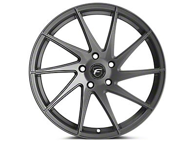 Forgestar F10D Gunmetal Direction Wheel - Passenger Side - 19x9 (15-17 All) (15-18 All)