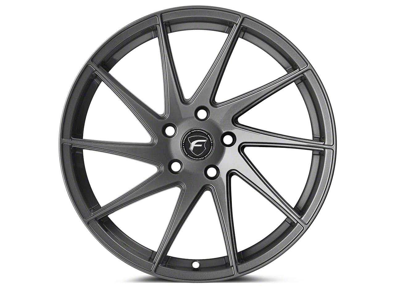 Forgestar F10D Gunmetal Direction Wheel - Driver Side - 19x9 (05-14 All) (05-14 All)