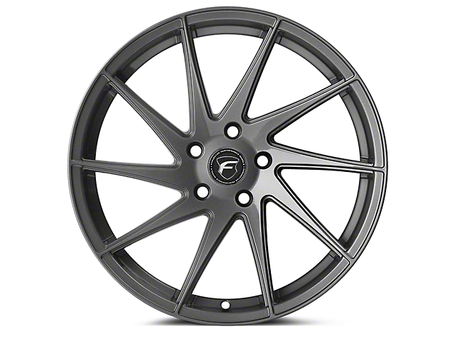 Forgestar F10D Gunmetal Direction Wheel - Driver Side - 19x9 (15-17 All) (15-19 All)