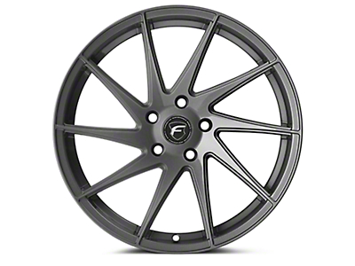 Forgestar F10D Gunmetal Direction Wheel - Driver Side - 19x9 (15-17 All) (15-18 All)