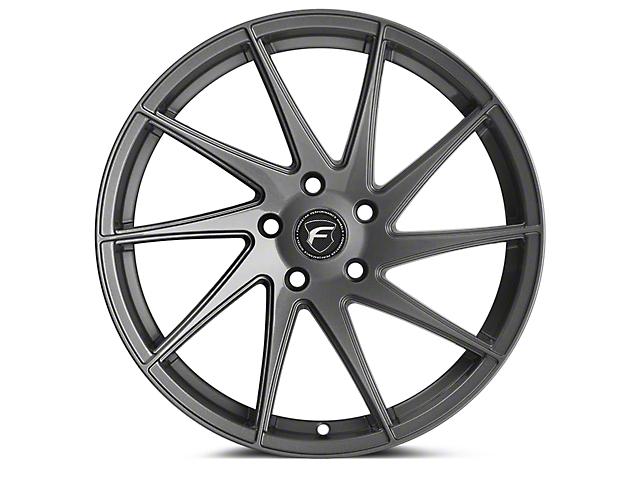 Forgestar F10D Gunmetal Direction Wheel - Passenger Side - 19x10 (15-18 All)