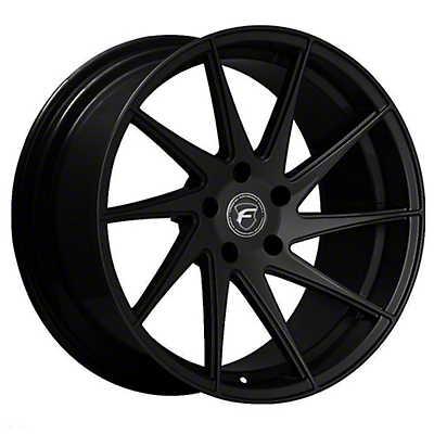 Forgestar F10D Piano Black Direction Wheel - Passenger Side - 19x9.5 (15-19 GT, EcoBoost, V6)