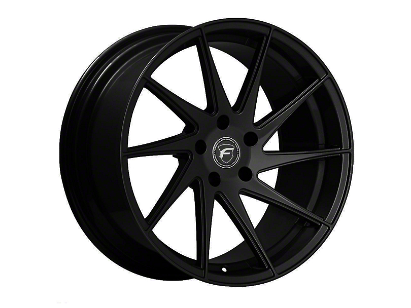 Forgestar F10D Piano Black Direction Wheel - Driver Side - 19x9.5 (15-19 GT, EcoBoost, V6)