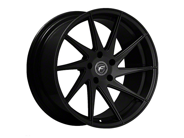 Forgestar F10D Piano Black Direction Wheel - Passenger Side - 19x10 (15-19 GT, EcoBoost, V6)