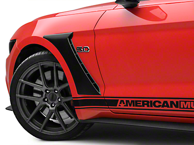 MP Concepts GT350 Style Fender Scoops - Unpainted (15-19 GT, EcoBoost, V6)