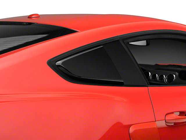 MP Concepts Quarter Window Scoops - Gloss Black (15-18 All)