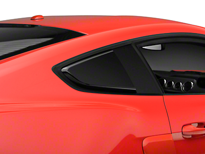MP Concepts Quarter Window Scoops - Gloss Black (15-18 Fastback)