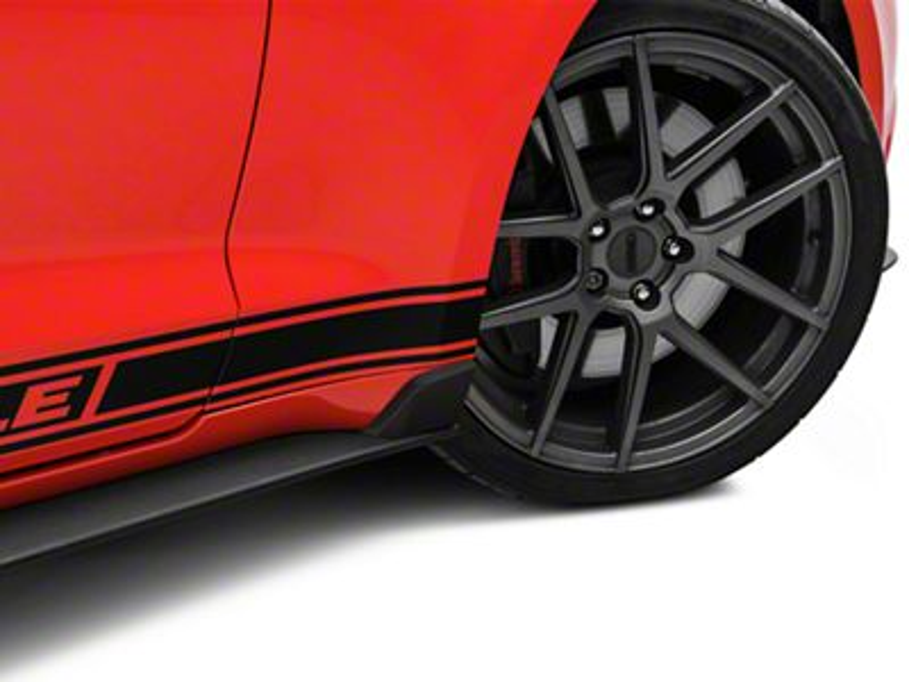 MP Concepts GT350 Style Rocker Winglets (15-19 GT, EcoBoost, V6)