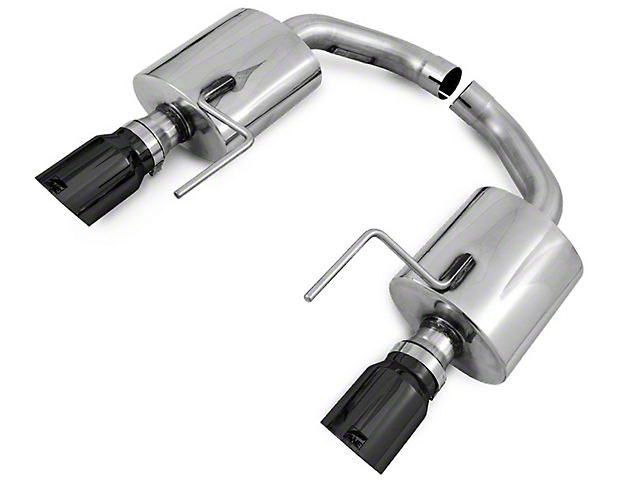 AWE Touring Edition Axle-Back Exhaust w/ Diamond Black Tips (15-17 GT)