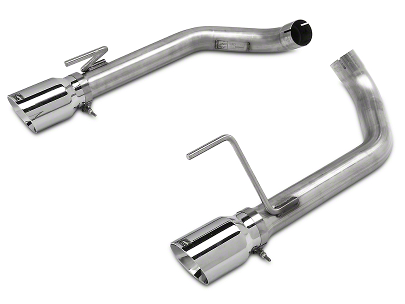 AWE Track Edition Axle-Back Exhaust w/ Chrome Silver Tips (15-17 GT)