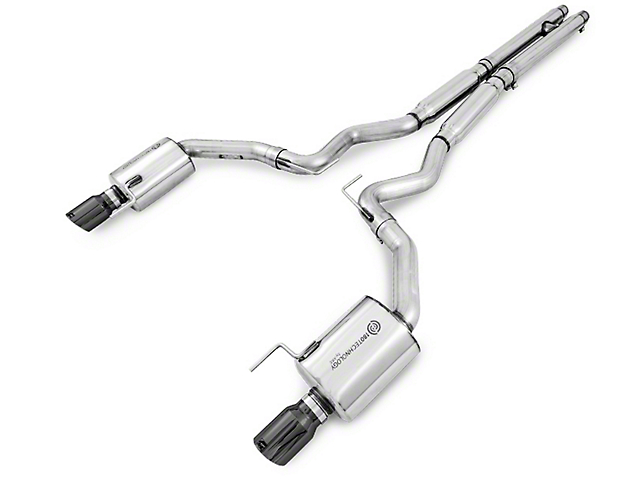 AWE Touring Edition Cat-Back Exhaust w/ Diamond Black Tips (15-17 GT Fastback)