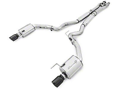 AWE SwitchPath Cat-Back Exhaust w/ Diamond Black Tips (15-17 GT Fastback)