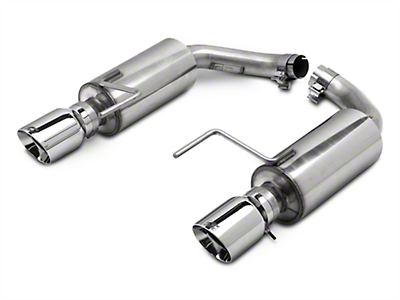 AWE Touring Edition Axle-Back Exhaust w/ Chrome Silver Tips (15-17 EcoBoost)