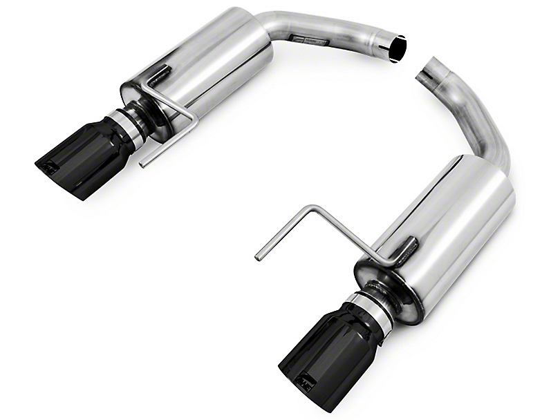 AWE Touring Edition Axle-Back Exhaust w/ Diamond Black Tips (15-17 EcoBoost)