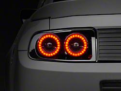 Raxiom Mustang Smoked Aero Tail Lights 49145 10 12 All