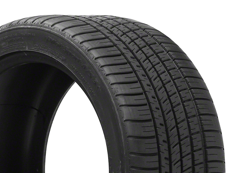 Michelin Pilot Sport A/S 3+ Tire (17 in., 18 in., 19 in., 20 in.)