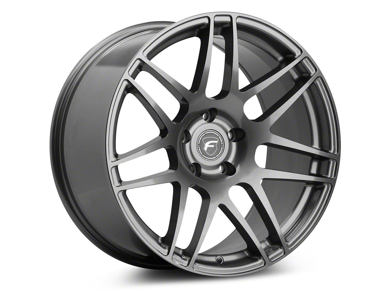 Forgestar F14 Drag Edition Gunmetal Wheel - 15x3.75 (05-10 GT, V6)