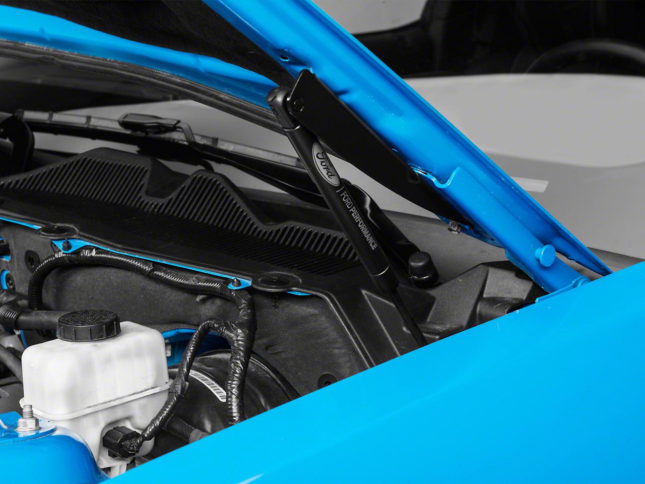 Ford Performance Hood Strut Kit w/ Ford Performance Logo (10-14 All)