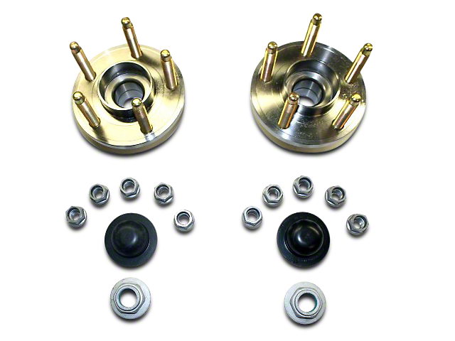 Ford Performance Front Wheel Hub Kit w/ ARP Studs (15-18 GT, EcoBoost, V6)