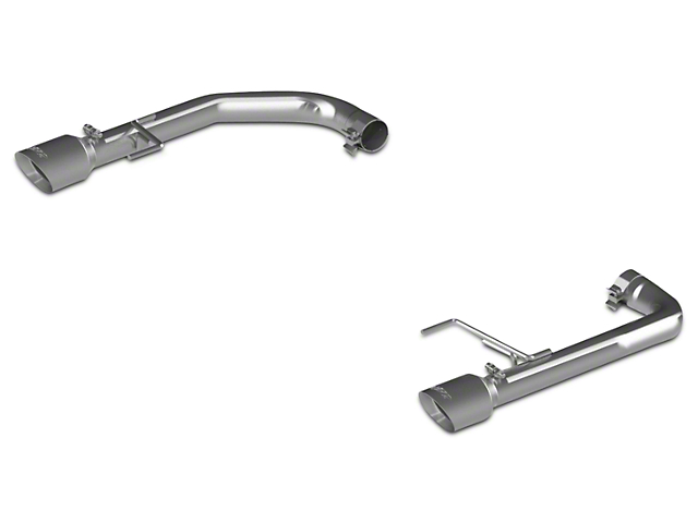 MBRP Pro Series Muffler Delete Axle Back Exhaust 15 17 GT