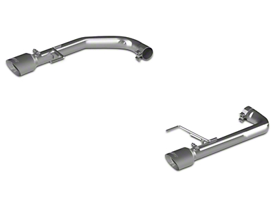 MBRP Pro-Series Muffler Delete Axle-Back Exhaust (15-17 GT)