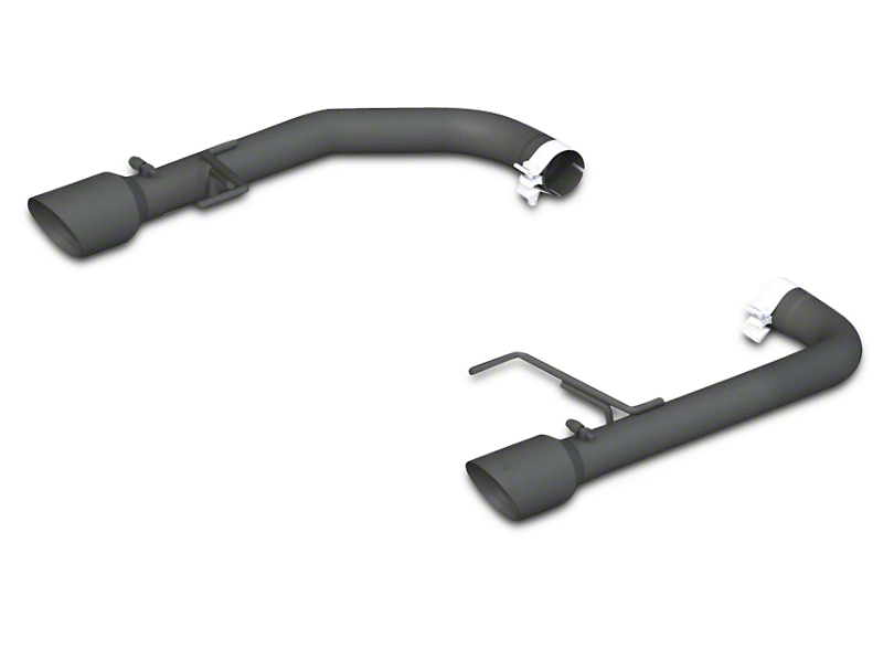 MBRP Black Series Muffler Delete Axle-Back Exhaust (15-17 GT)
