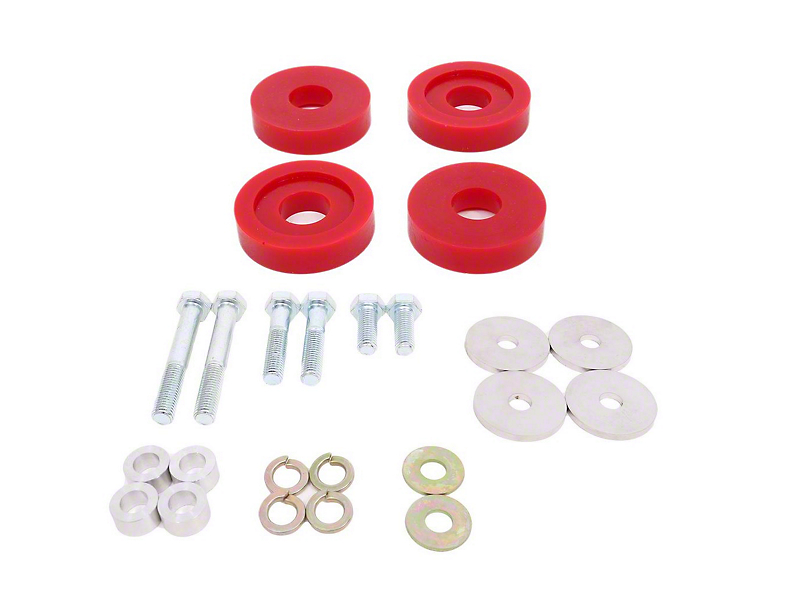 BMR Polyurethane Differential Bushing Lockout Kit (15-20 All)