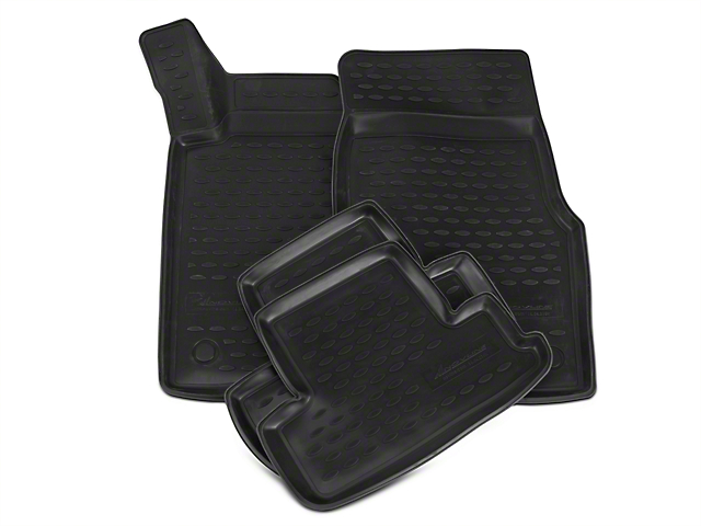 Westin Profile Front & Rear Floor Mats - Black (11-14 All)