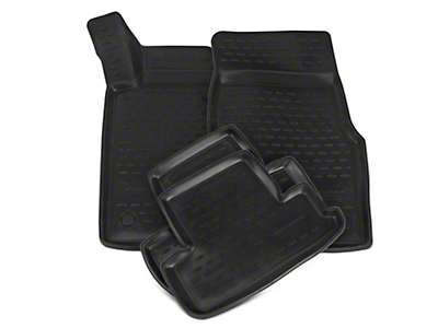 Westin Profile Front & Rear Floor Liners - Black (11-14 All)