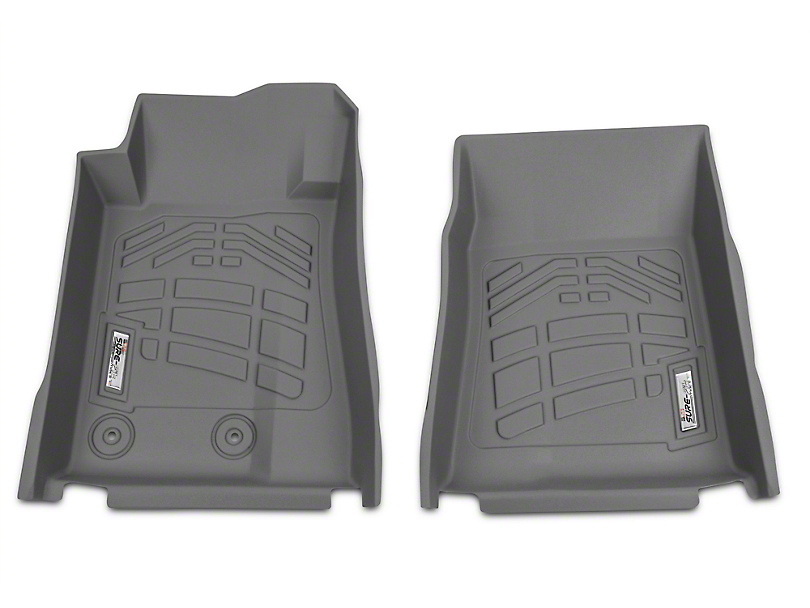 Wade Sure-Fit Front Floor Mats - Gray (15-19 All)