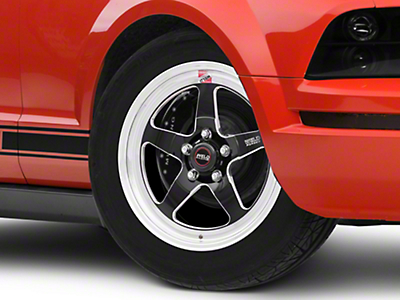 Weld Racing RTS S71 Black Anodized Wheel - 17x5 (05-14 All, Excluding 13-14 GT500)