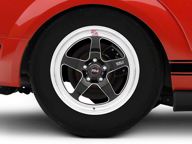 Weld Racing RTS S71 Black Anodized Wheel - 17x10 (05-14 All, Excluding 13-14 GT500)