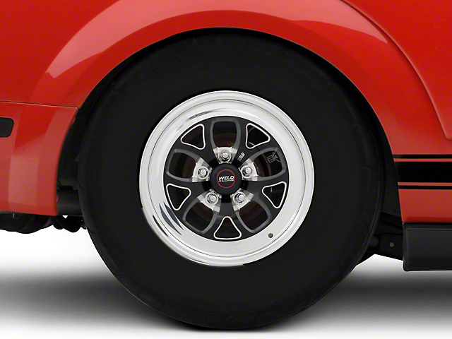Weld Racing RTS S76 Black Anodized Wheel - 15x10 (05-14 All)