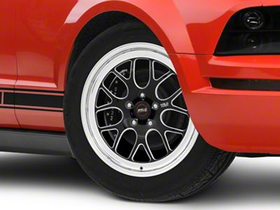 weld racing mustang rts s77 black anodized wheel 18x5 77hb8050a21a Ford F-250 XL weld racing mustang rts s77 black anodized wheel 18x5 77hb8050a21a 05 14 all