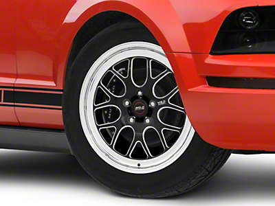 Weld Racing RTS S77 Black Anodized Wheel - 18x5 (05-14 All)