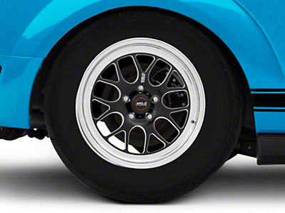 Weld Racing RTS S77 Black Anodized Wheel - 17x10 (05-14 Standard GT, V6)