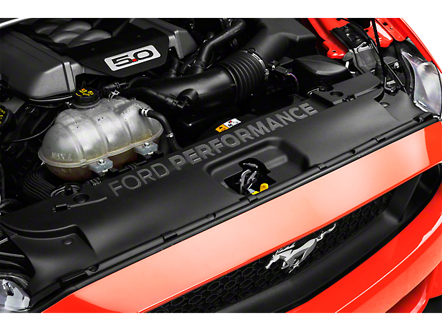 Ford Performance Radiator Cover with Ford Performance Logo (15-17 GT, EcoBoost, V6)