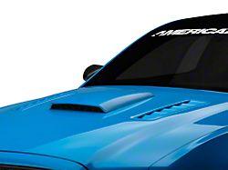 SpeedForm Hood Scoop; Unpainted (05-14 GT, V6)