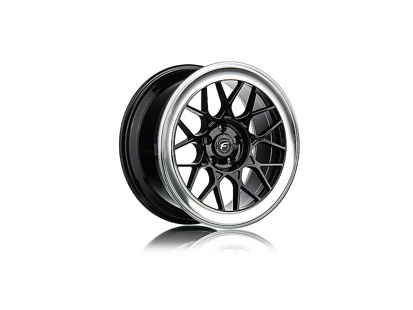 Forgestar S18 Black Machined Wheel - 19x9 (05-14 All)