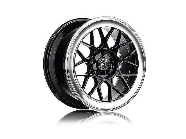 Forgestar S18 Black Machined Wheel - 19x9.5 (05-14 All)